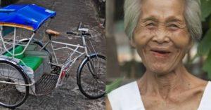 Pedicab Lamang ang Inaasahan ng Ginang sa Araw-araw, Grabe ang Panlulumo Niya Nang May Magnakaw Nito