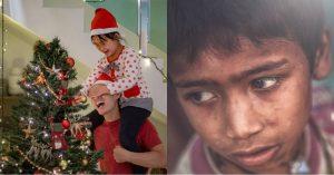 Tuwang-tuwa ang Batang Mahirap na Ito Kapag Nakakakita Siya ng Christmas Tree; Magkakaroon Kaya Sila Nito Balang Araw?