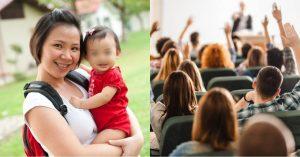 Kinagagalitan ang Babae dahil sa Pagdadala Niya ng Anak sa Klase; Nakatanggap Siya ng Hindi Inaasahang Tulong